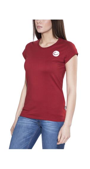 Edelrid Highball t-shirt Dames rood